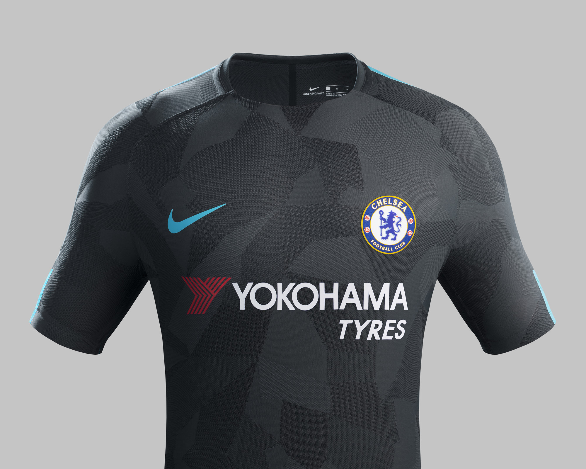 Chelsea FC 2017-18 third kit official promo images | Nike