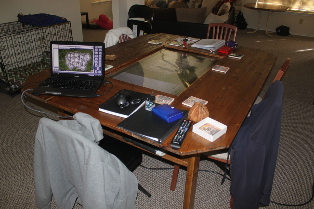 D&D group builds custom digital tabletop with 4K touchscreen