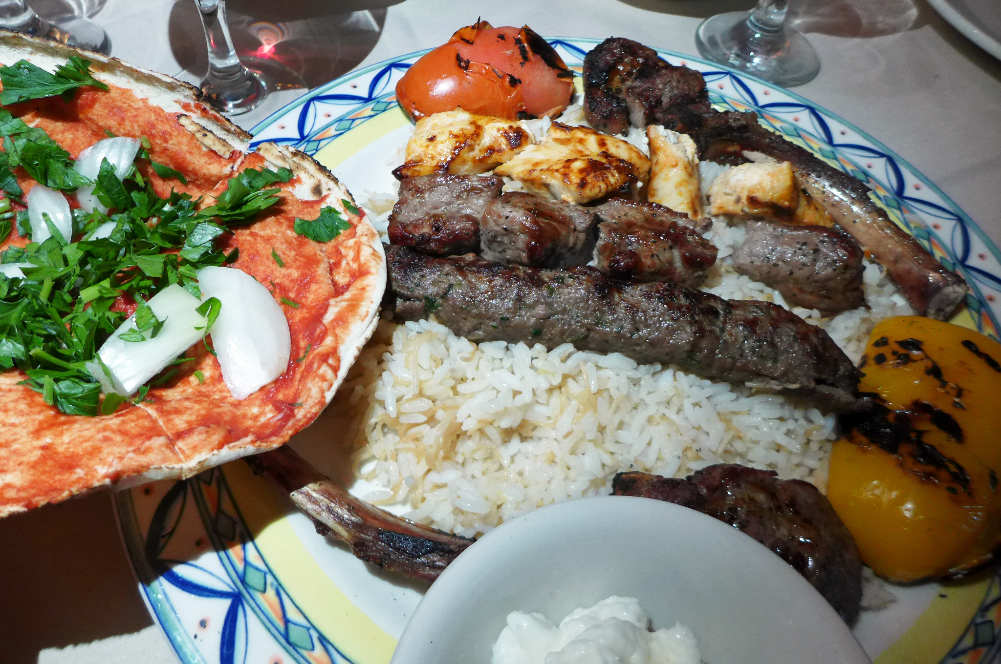 Le sajj is a new york hidden gem of middle eastern cuisine for Anoush middle eastern cuisine north york