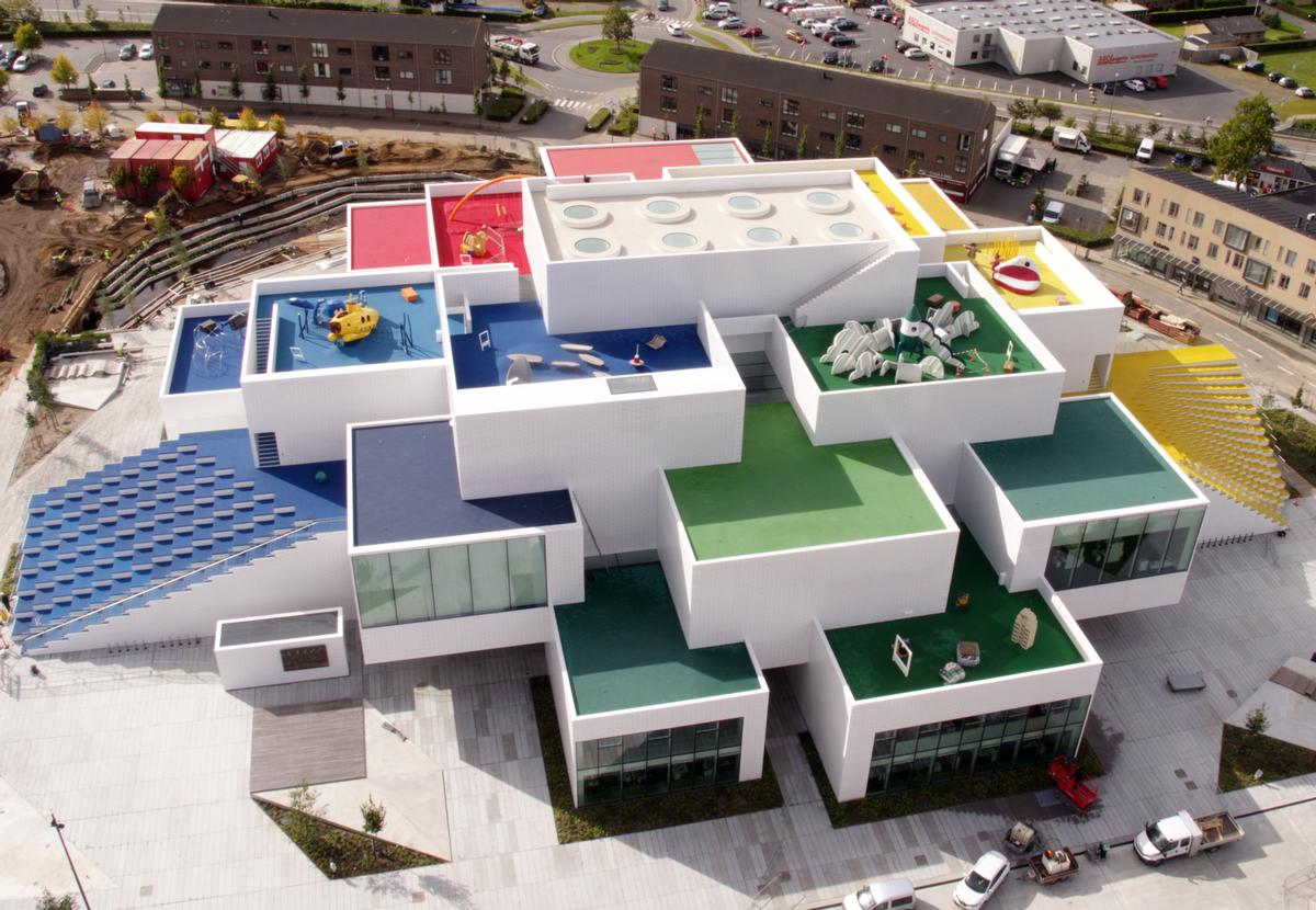 lego house a giant playhouse dubbed the home of the. Black Bedroom Furniture Sets. Home Design Ideas
