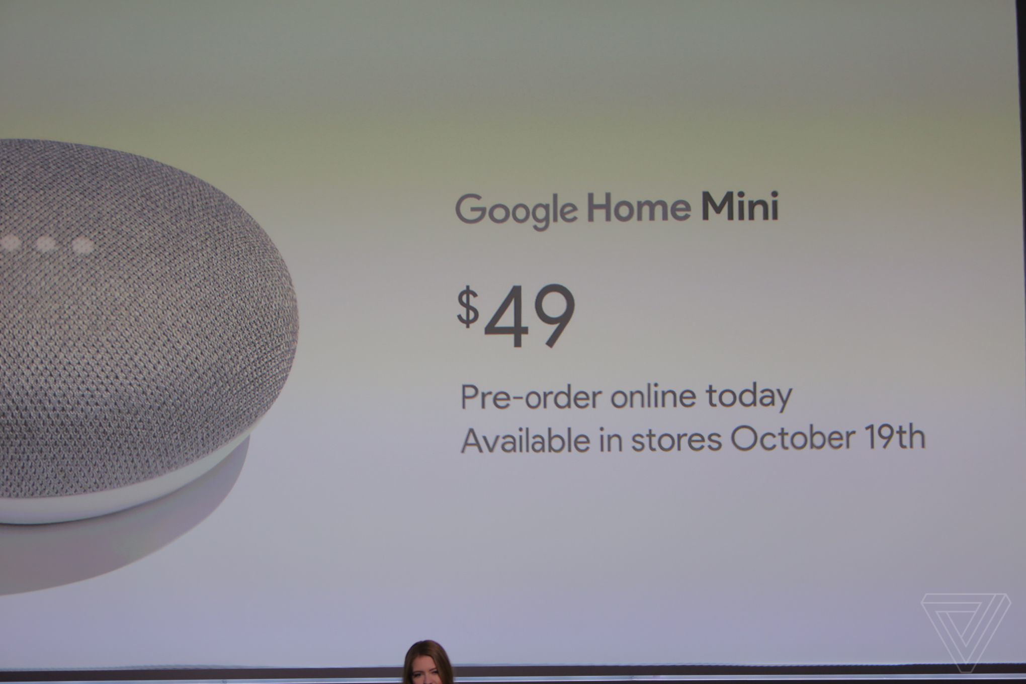0dac13046139  49 Google Home Mini announced to compete with Amazon s Echo Dot ...