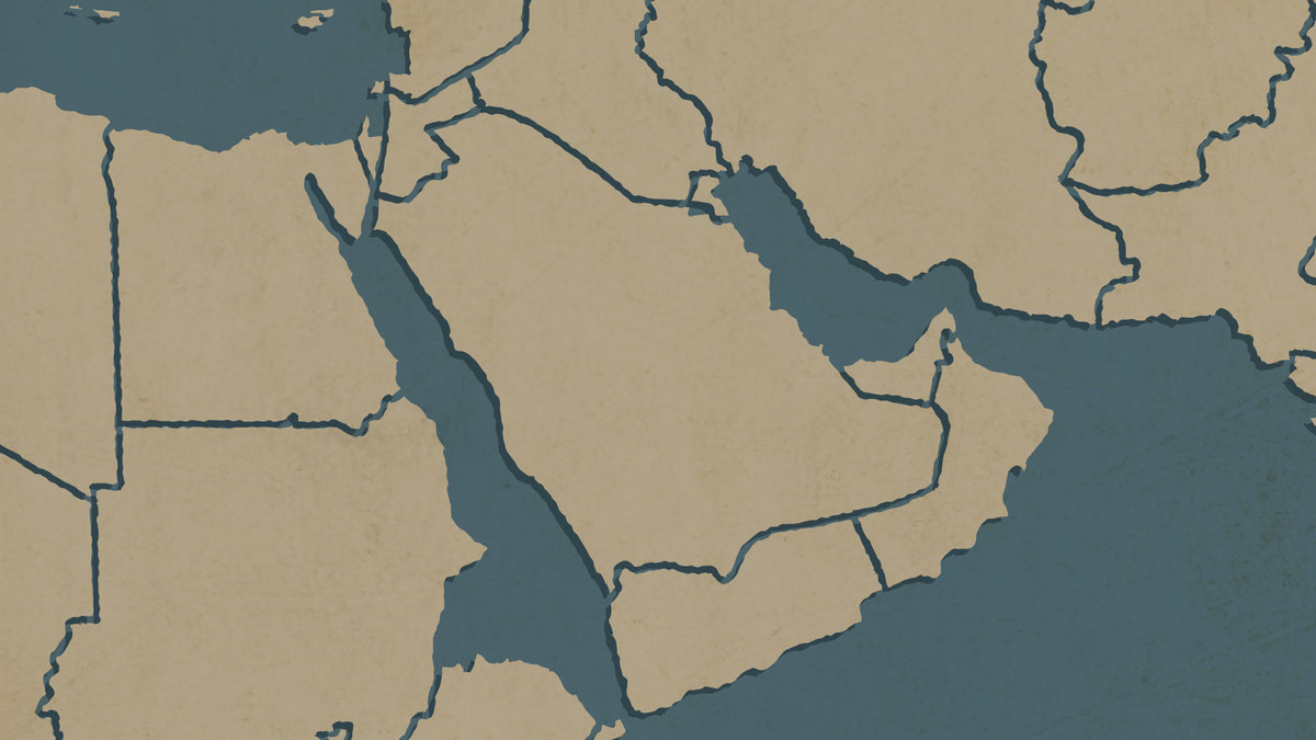 Maps That Explain The Middle East - Simple map of eastern us
