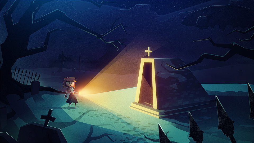 Mystery adventure game Jenny LeClue influenced by divorce