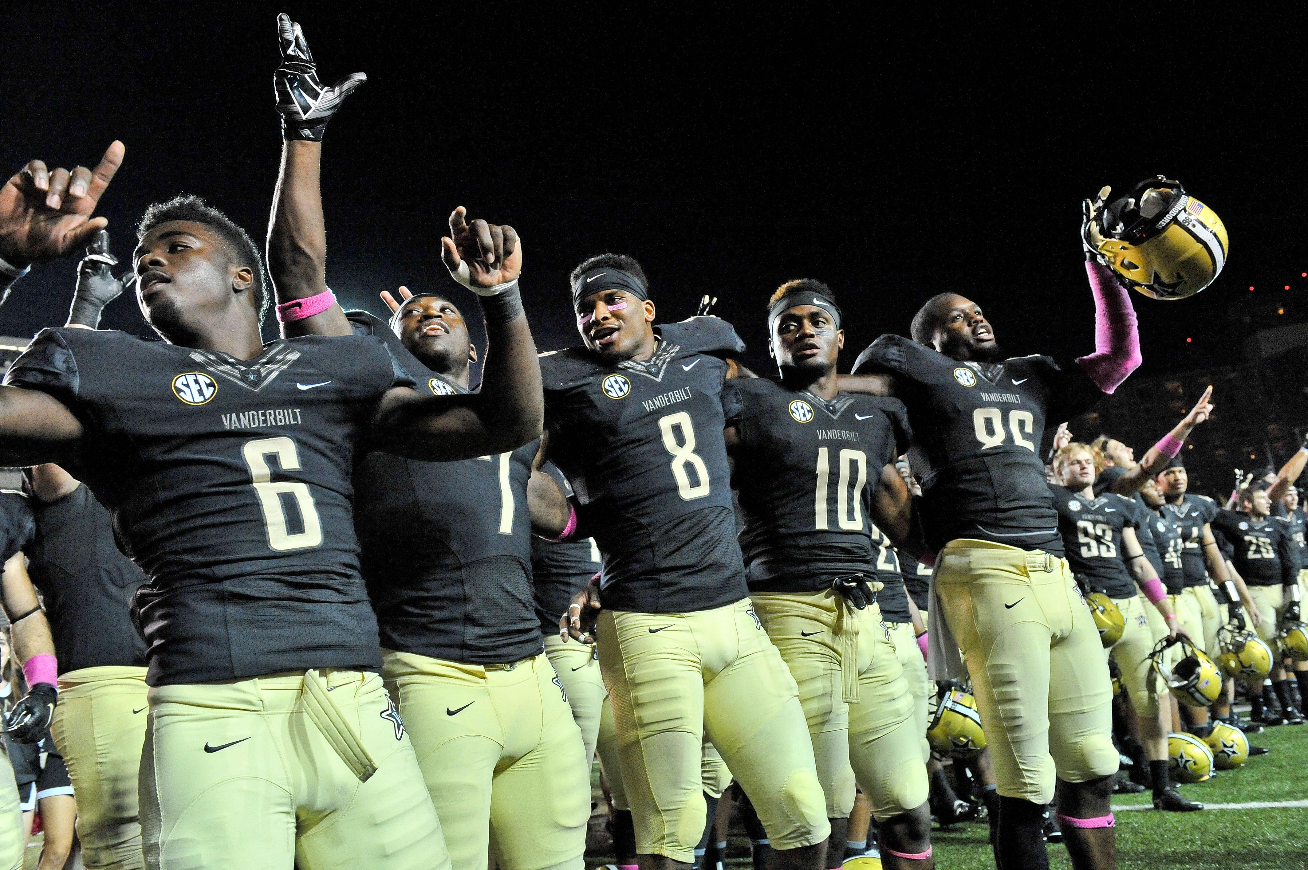 Vanderbilt players