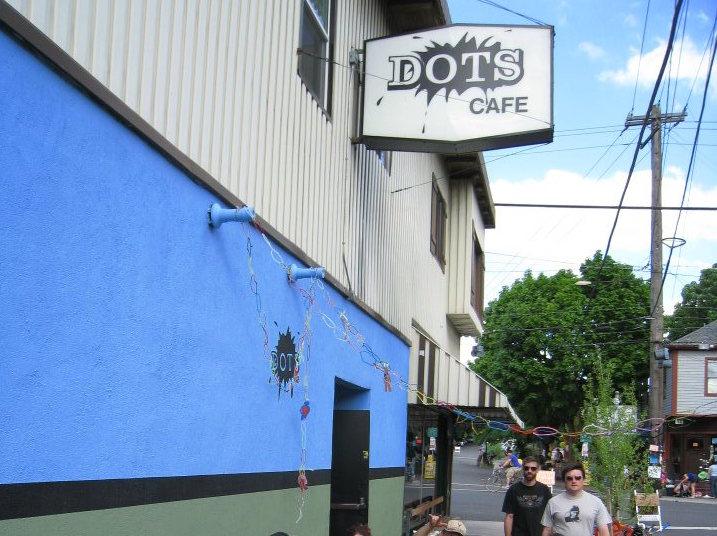 Dots Cafe Happy Hour Menu
