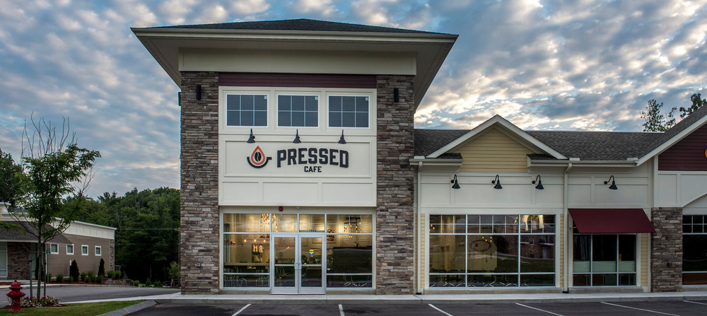 Pressed Cafe Burlington Opening