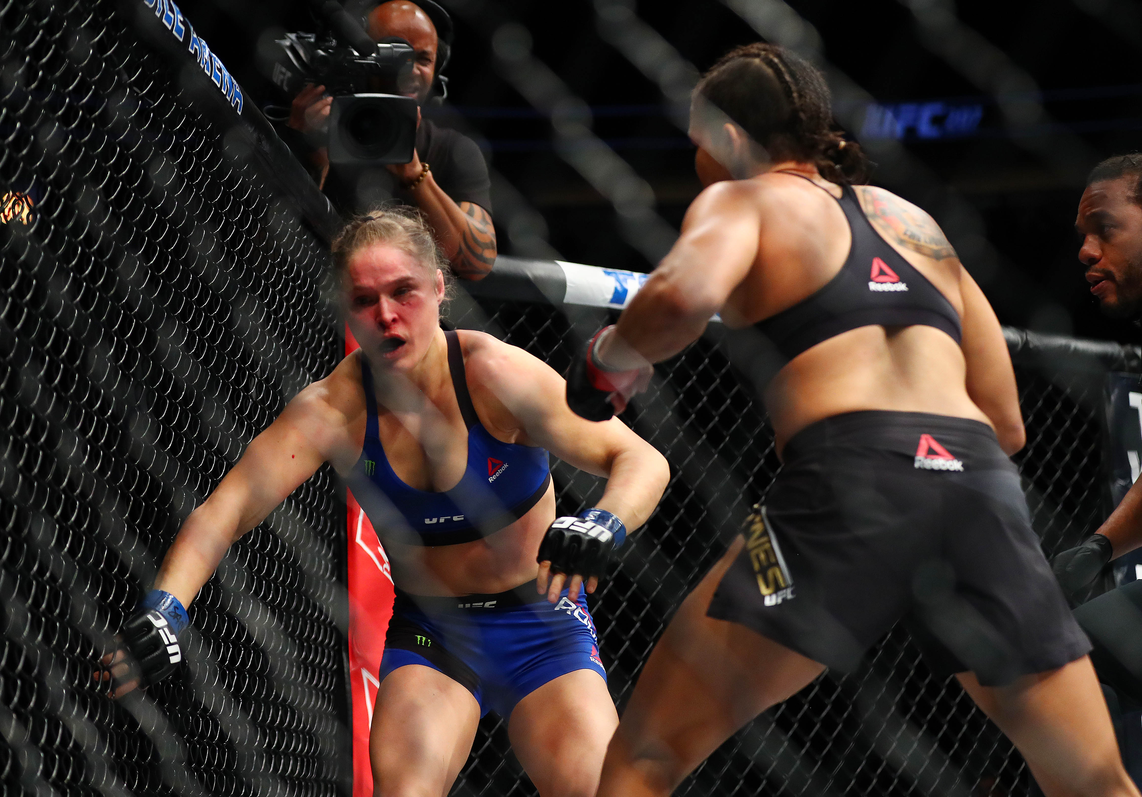 Image result for rousey vs nunes