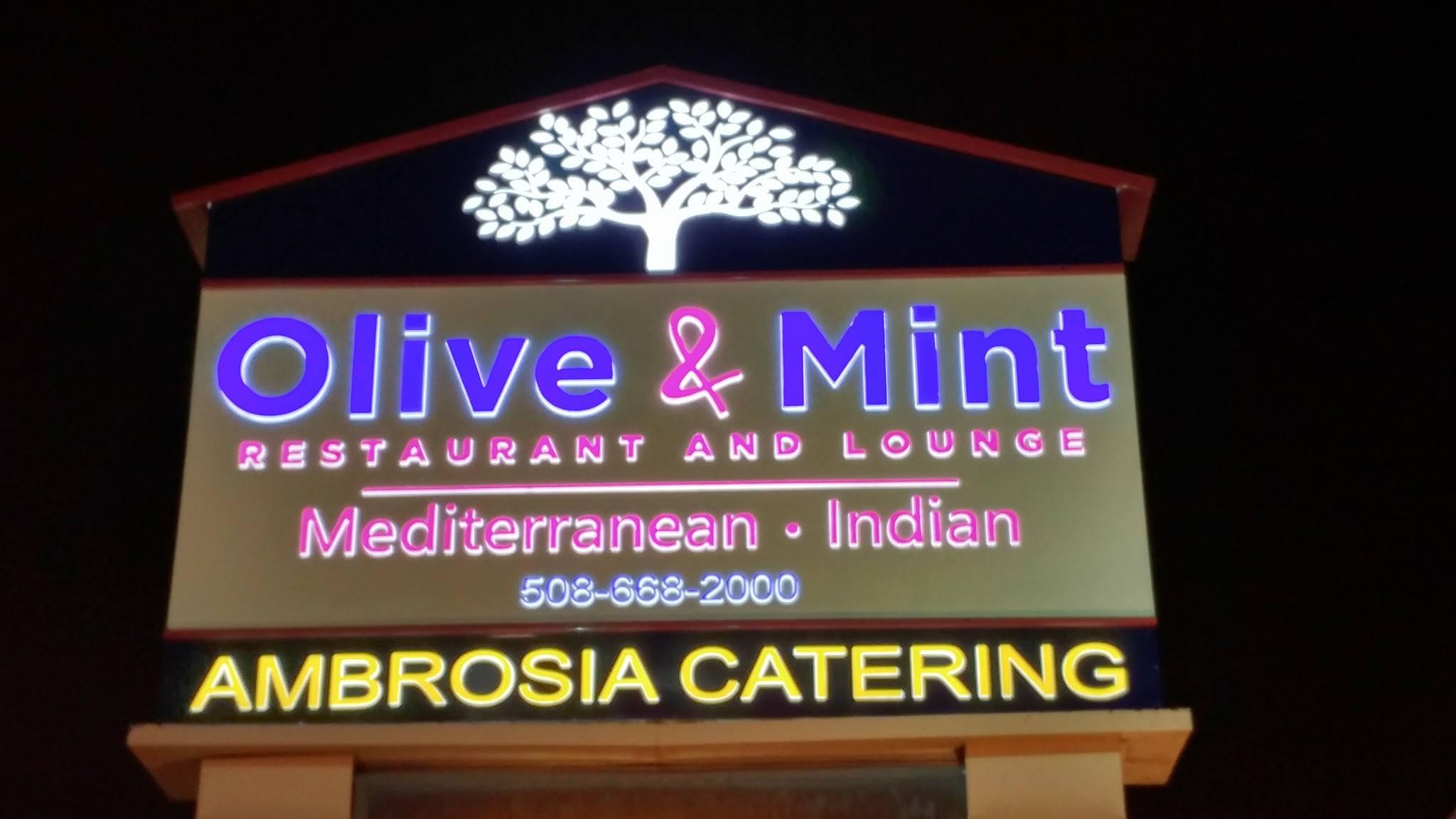 Olive And Mint Restaurant Foxboro Menu