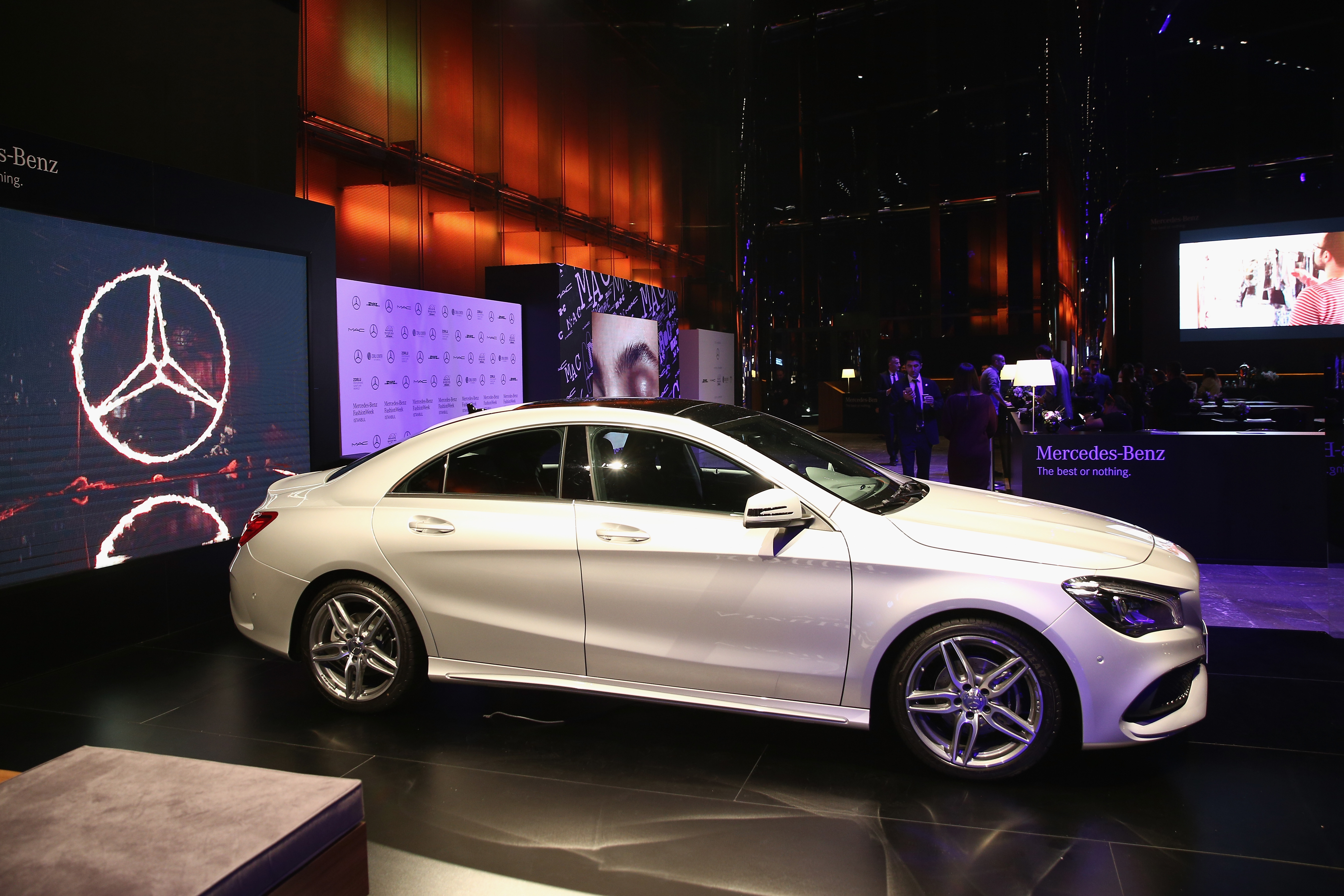 Google co founder sergey brin joins protest against for Mercedes benz luxury