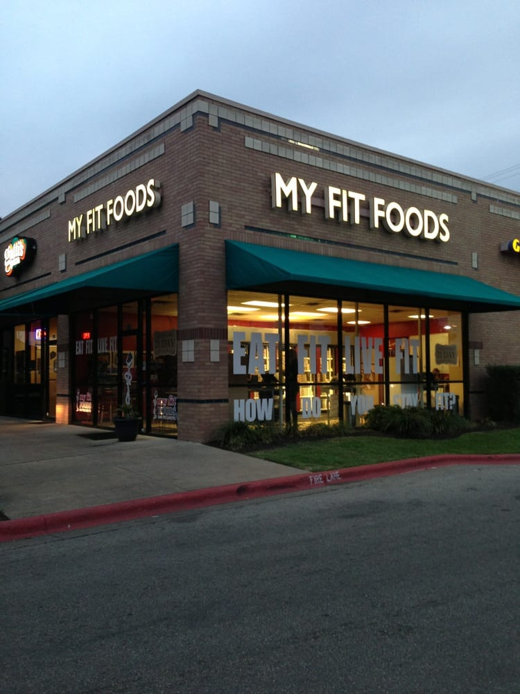 My Fit Foods Menu Houston Tx